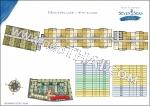 На-Джомтьен Seven Seas Cote d Azur планы этажей корпус Montpellier