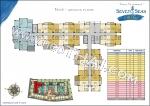 На-Джомтьен Seven Seas Cote d Azur планы этажей корпус Nice