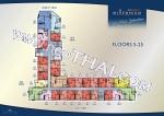 Южная Паттайя Arcadia Millennium Tower поэтажные планы