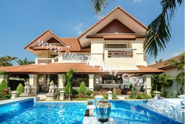 Аренда недвижимости в Паттайе - Дом, 5 комнат - 380 м², 150.000 бат/месяц