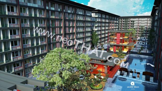 Arcadia Beach Imperial Паттайя Кондо  - купить-продать - дешевые цены, Тайланд - Квартиры, Карты