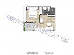 Arcadia Center Suites - Квартира 8008 - 3.920.000 бат