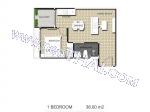 Arcadia Center Suites - Квартира 8009 - 5.320.000 бат