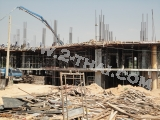 12 мая 2011 Beach Front Jomtien Residence, Паттайя - фото с места строительства проекта