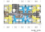 Центральная Паттайя Centara Avenue Residence and Suites Pattaya поэтажные планы