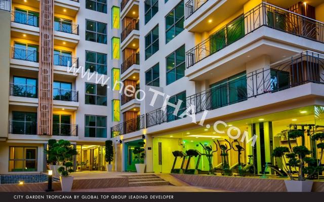City Garden Tropicana Паттайя Кондо  - купить-продать - дешевые цены, Тайланд - Квартиры, Карты