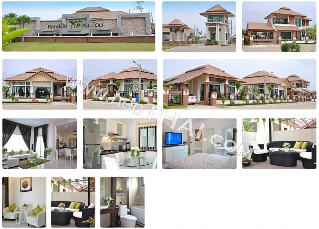 Classic Garden Home Паттайя Кондо  - купить-продать - дешевые цены, Тайланд - Дома, Карты