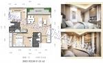 Паттайя, Квартира - 61 м²; Цена продажи - 5.600.000 бат; Dusit Grand Park 2