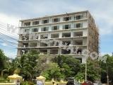 19 сентября 2011 Jomtien Beach Mountain 5, Паттайя - активно ведутся фасадные и внутренние отделочные работы