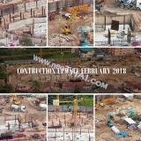 05 февраля 2018 Olympus City Garden стройплощадка