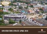 26 апреля 2018 Olympus City Garden стройплощадка