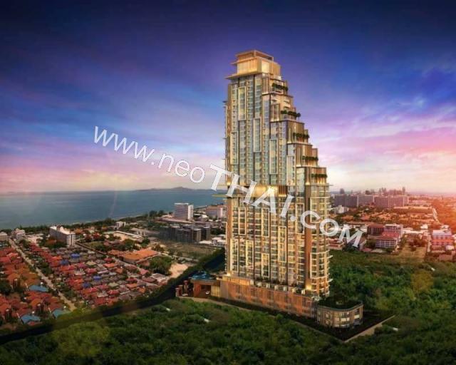 Паттайя, Квартира - 35.5 м²; Цена продажи - 3.210.000 бат; Riviera Ocean Drive