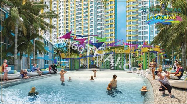 Seven Seas Le Carnival Паттайя Кондо  - купить-продать - дешевые цены, Тайланд - Квартиры, Карты