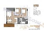 Пратамнак Хилл Sunset Boulevard Residence планировки квартир, 2 корпус