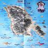 Карта острова Кочанг на английском