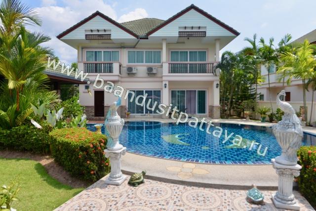 Паттайя, Дом - 299 м²; Цена продажи - 14.500.000 бат; Baan Dusit Pattaya 1 - Русский поселок