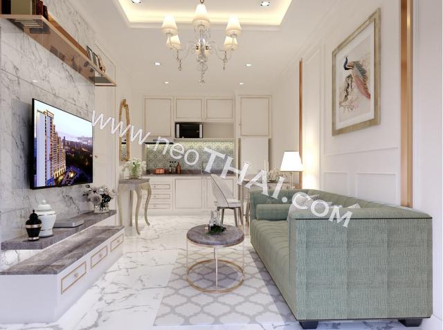 Паттайя, Квартира - 33 м²; Цена продажи - 3.750.000 бат; Empire Tower Pattaya