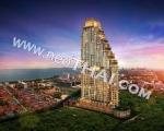 Недвижимость в Тайланде: Квартира в Паттайе, 2 комнаты, 31 м², 2.600.000 бат