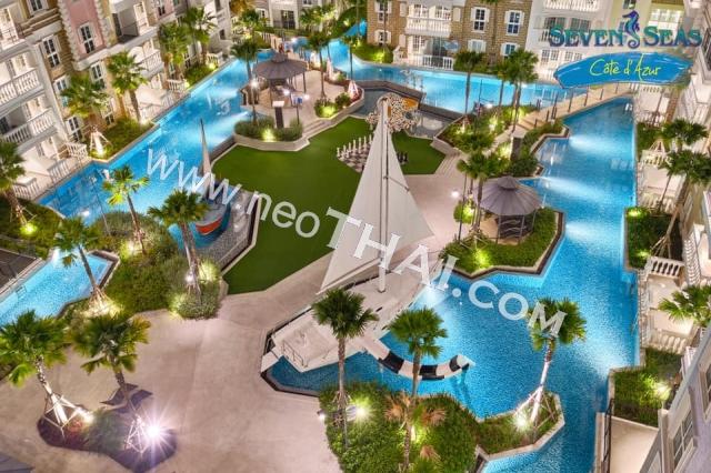 Паттайя, Квартира - 32 м²; Цена продажи - 2.190.000 бат; Seven Seas Cote d Azur
